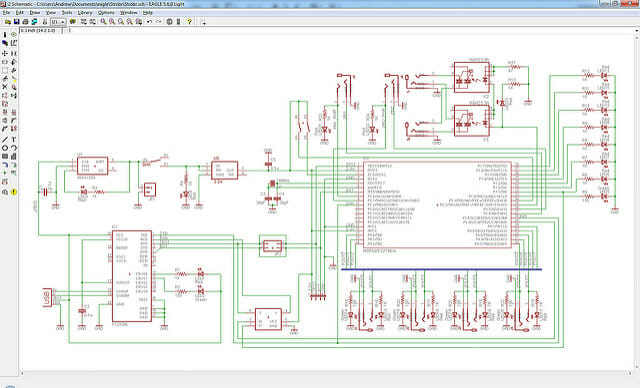 electronic schematic diagrams and circuit board wiring