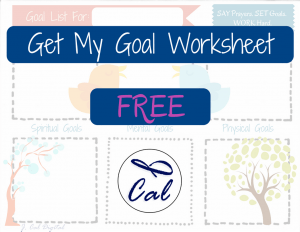 Get My Free Sticky Note Goal List Worksheet