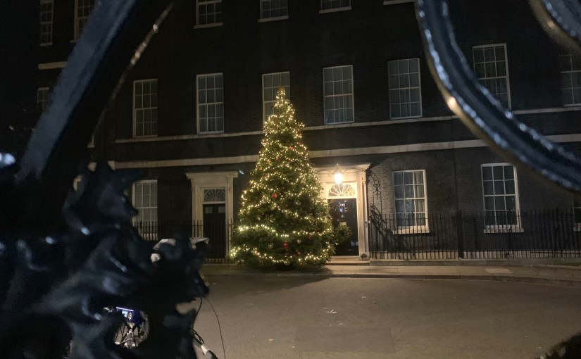 Christmas at 10 Downing Street this year.