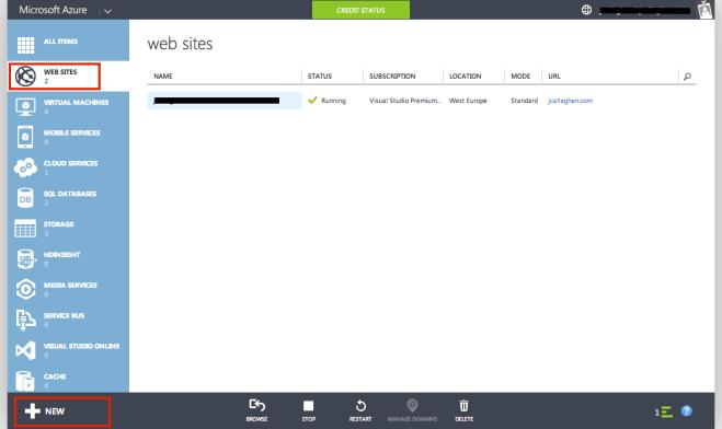 Azure Web Sites
