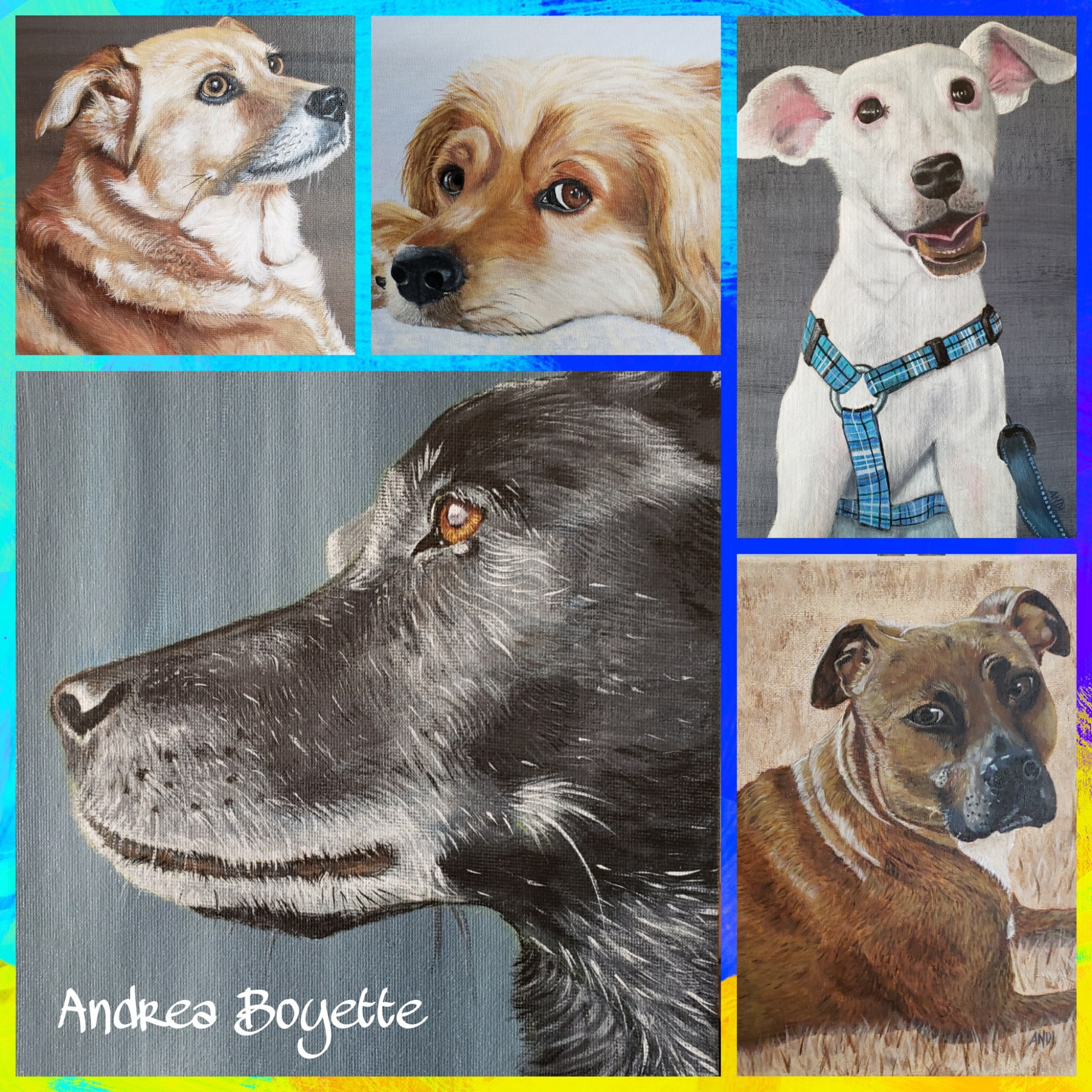 Art by Andrea Boyette - Artsy Animal Contest