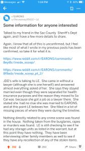 evidence Reddit