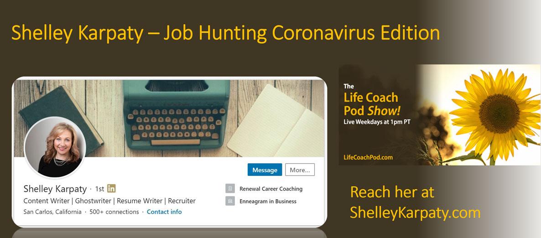 Job Hunting Coronavirus Edition