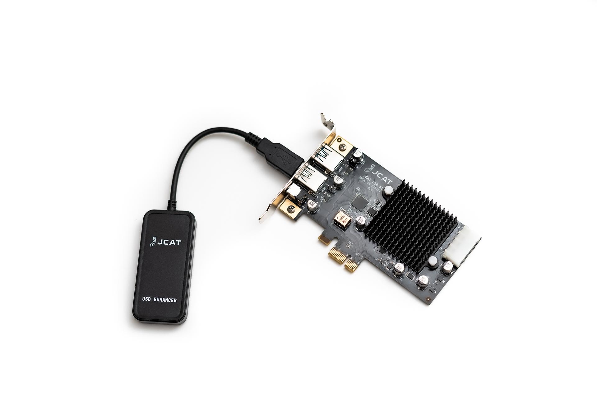 USB ENHANCER removes power noise in audio setup