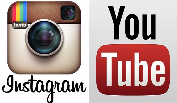 ¿Con Y de YouTube o con I de Instagram?
