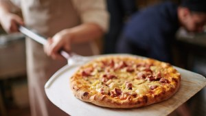 papel albal pizza