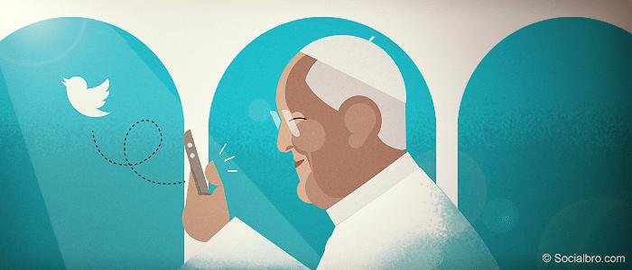 Retar al Papa en Twitter