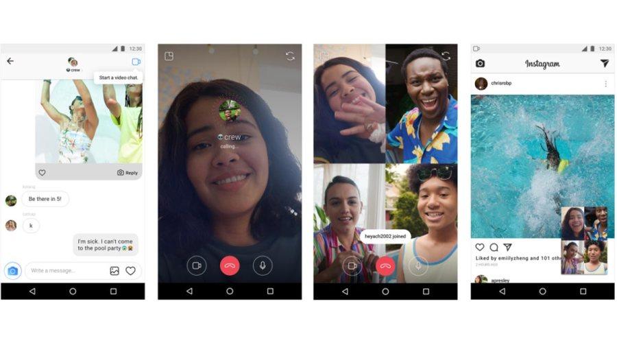 Videollamadas con filtros a través de Instagram