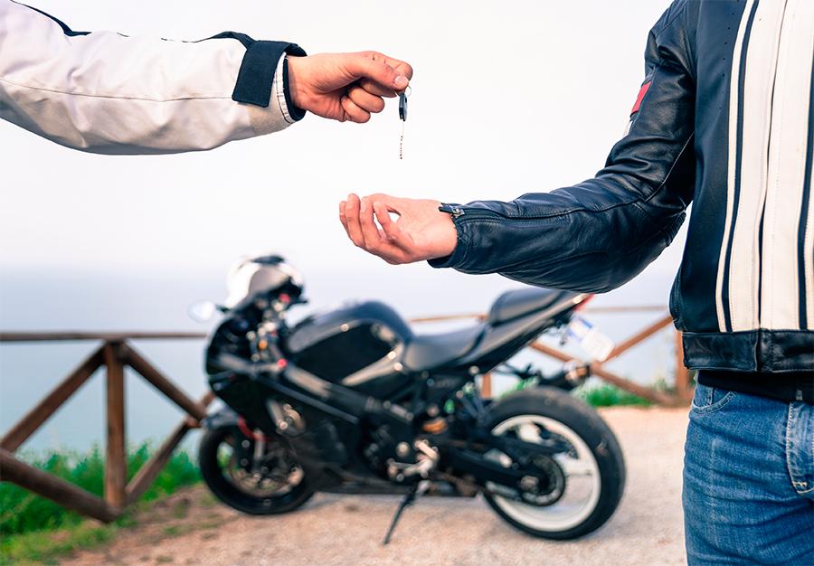 """Compra """"fallida"""" de moto"""