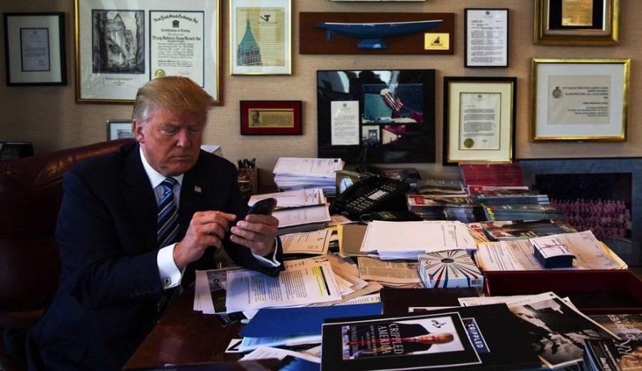 Estar más perdido que Trump sin redes sociales