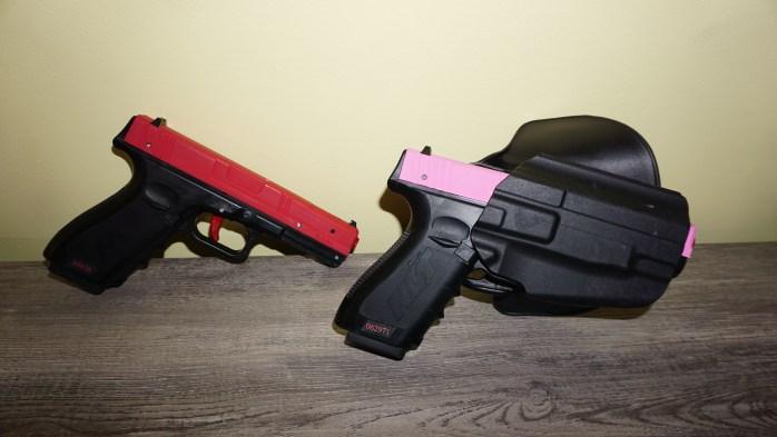 SIRT laser trainer pistol