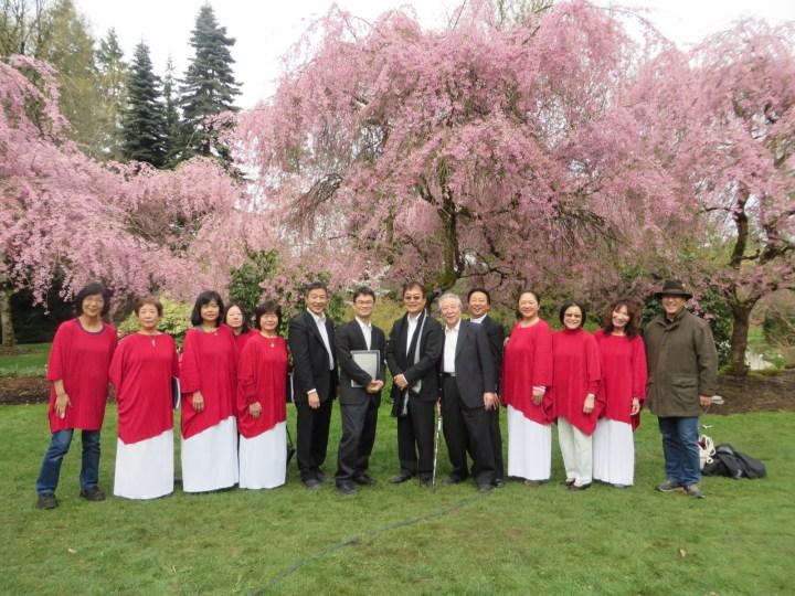2014年桜デイズジャパンフェアーにて