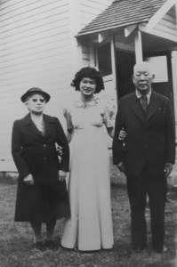 From left: Ura Imai, Frances Isomura (nee Imai), Kohei Imai