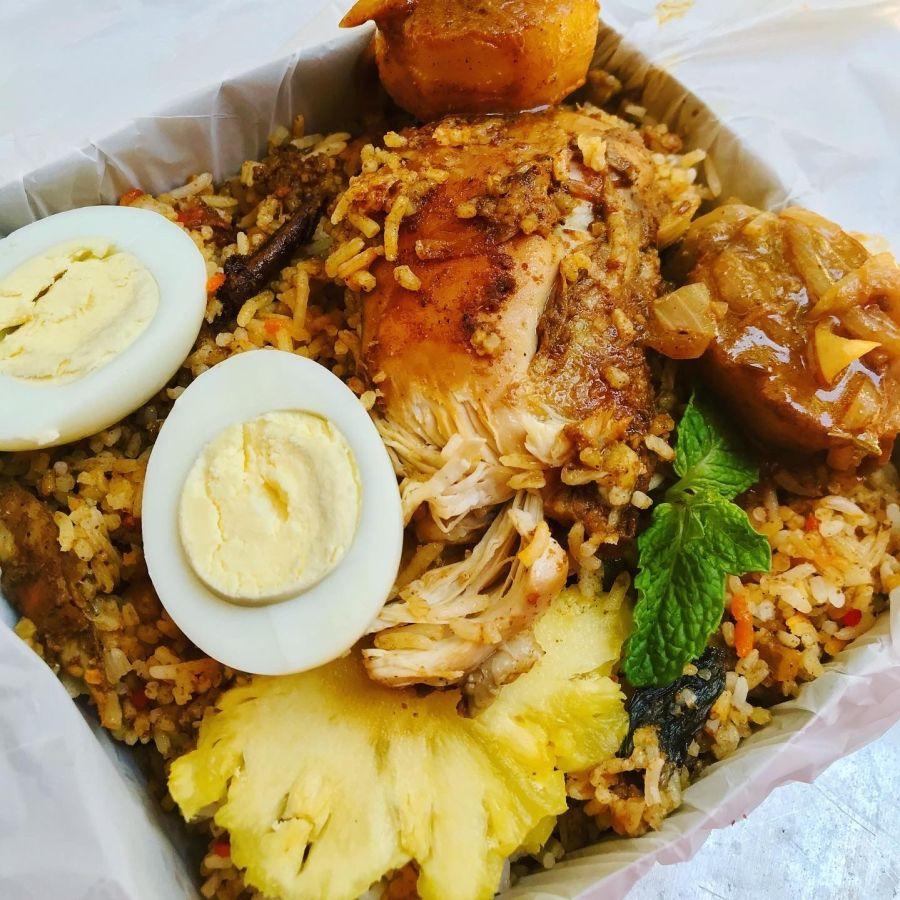 chicken dum biryani, biryani, batticaloa, food delivery