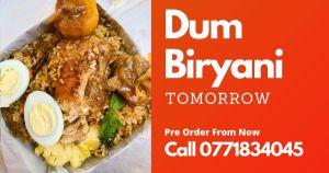 Chicken Dum Biryani Batticaloa 1