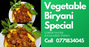 Vegetable Biryani Batticaloa 1