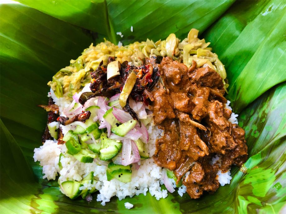 Mutton Lunch Pack - Banana Leaf