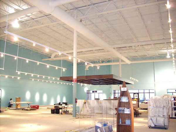 Furniture Row Shopping Center Interior Painting Project