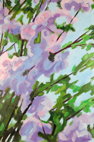 2007 - Huile / Floral 001