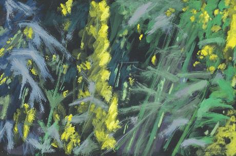 2005 - Gouache / Floral 001