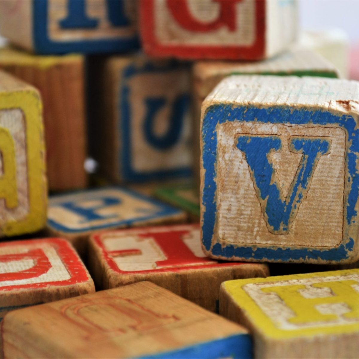 Used Wooden Blocks