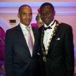 François MONTEZUME (Président 2013 de la JCE Martinique) et David GBEDEMAH (Président National 2013 de la JCEF)