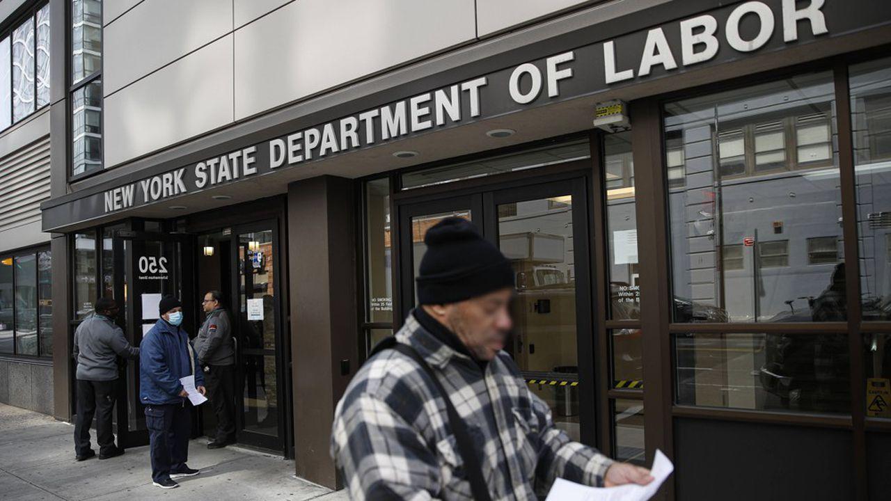 Le chômage exploser aux USA