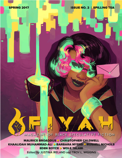 Fiyah Lit Mag issue #2 cover