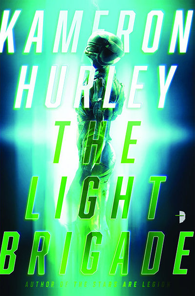 Cover for 'The Light Brigade' by Kameron Hurley