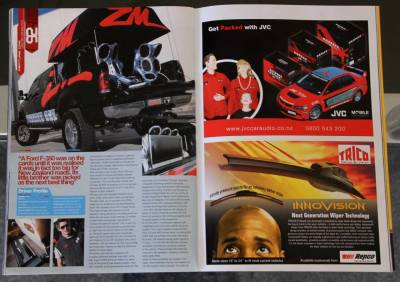 Performance Car Magazine Features - Our Custom Installs Over the Years