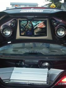 Ford Falcon - Huge Custom Install