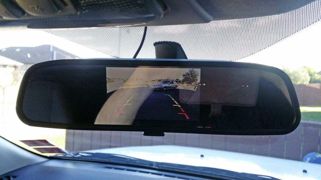 Clip On Reverse Camera Screen