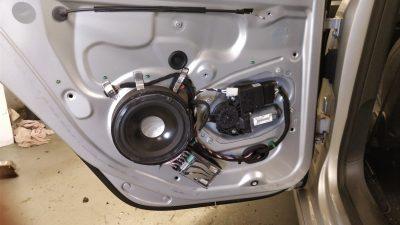 R32 Golf Rear Speaker Install