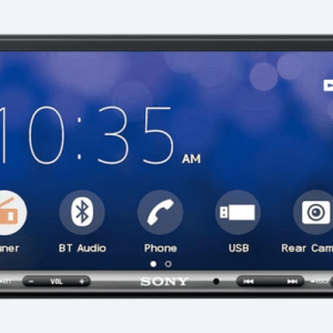 Sony XAV-AX3000 double DIN headunit from JC Installs in Christchurch