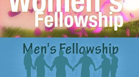 Women's/Men's Fellowship, July 15