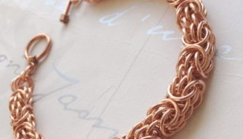 0612001b915ce Copper 3 in 3 Chain Link Bracelet - CB18 - J C Lee Collection