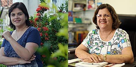 Priscila, filha de político, e Tereza, militante sindical, constroem novos caminhos para a participação feminina / Bobby Fabisak e Sérgio Bernardo/ JC Inagem