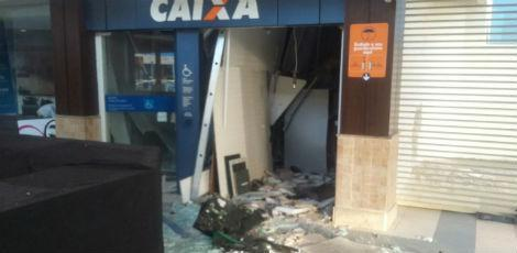 Explosões a caixas eletrônicos localizados fora das agências lidera estatística / Reprodução/Rádio Jornal
