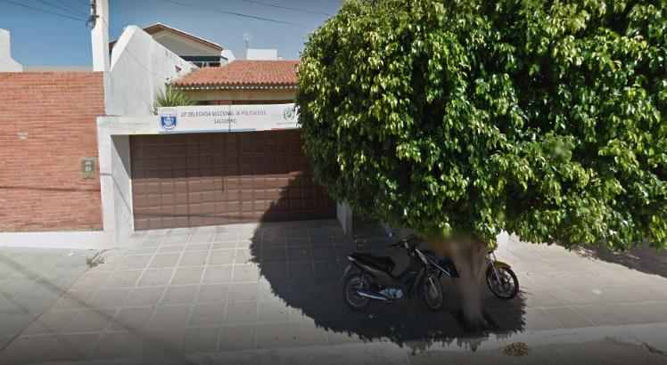 O suspeito foi preso no hospital de Parnamirim e levado para a Delegacia de Salgueiro, onde foram tomadas as medidas cabíveis / Foto: Reprodução/ Google Street View