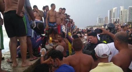 Acidente aconteceu na Zona Sul do Recife / Foto: Cortesia