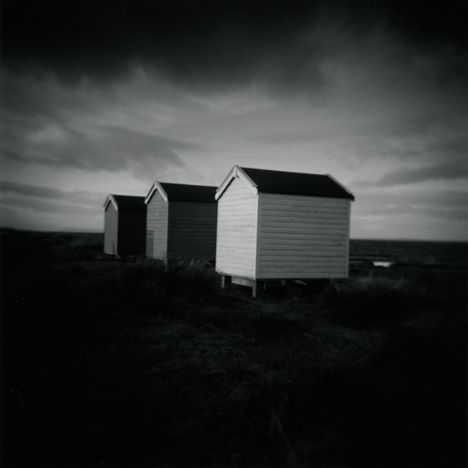findhorn-beach_three_huts_holga_j_connelly_photography