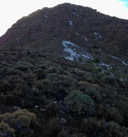El Cerro Caquisito y la destrepada que hicimos el tercer dia.