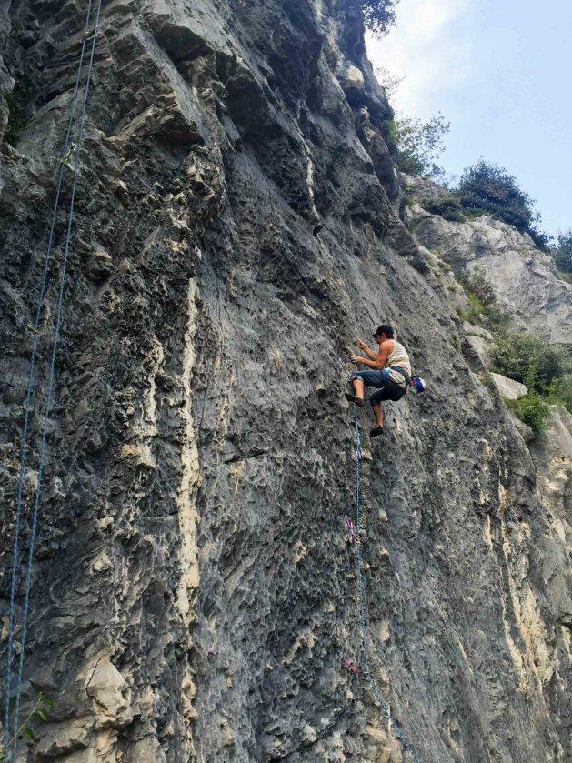 alpes italianos - escalada arco