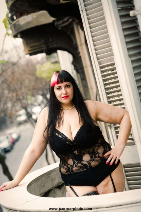 Sesion curvy plus size lenceria Argentina photoshoot model photographer loveMybody