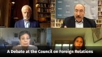 Débat au Conseil des relations extérieures