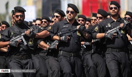 Défilé militaire iranien