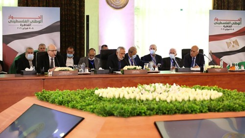 Palestinian faction leaders gathered in Cairo