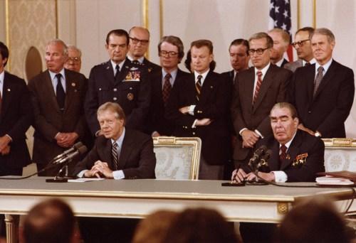 Traités Salt sur la limitation des armements stratégiques