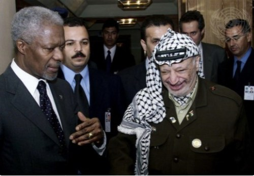 Annan, Arafat