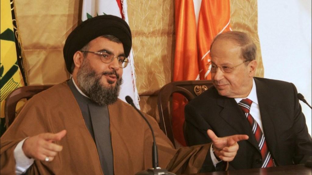 השתלטות חיזבאללה על לבנון